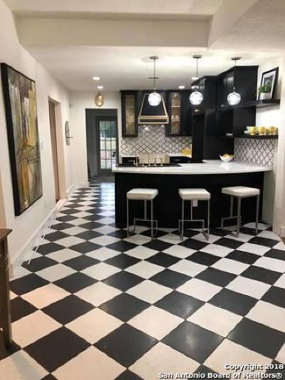 San Antonio Single Family Home New: 1115 Burnet St