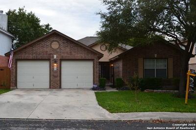 San Antonio Single Family Home New: 11818 Knobsby Way