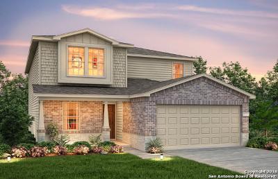 San Antonio TX Single Family Home Price Change: $261,867