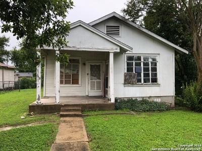 San Antonio Single Family Home New: 2122 Delgado St