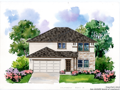 New Braunfels Single Family Home New: 3943 Legend Rock