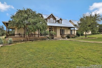 Boerne Single Family Home New: 103 Sage Brush