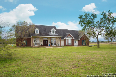 Seguin Single Family Home New: 2815 Laubach Rd