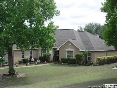 Seguin Single Family Home New: 608 Rudeloff Rd