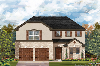 Converse Single Family Home New: 7514 Copper Meadow