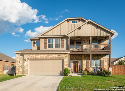 New Braunfels Single Family Home Price Change: 1939 Blue Goose