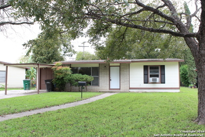San Antonio Single Family Home New: 327 Clutter Ave