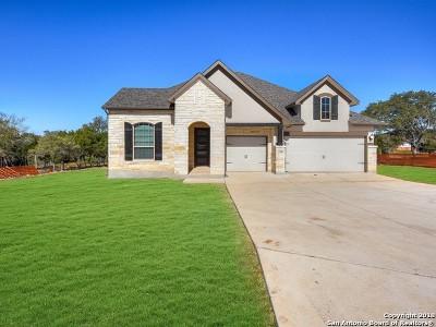 San Antonio Single Family Home New: 27807 Recanto