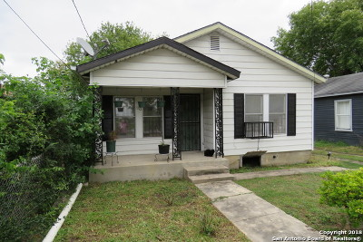 San Antonio Single Family Home Active Option: 110 Alexander Ave