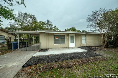 San Antonio Single Family Home New: 6911 Tallahasse Dr