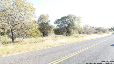 San Antonio Residential Lots & Land New: 23130 Trumbo Rd