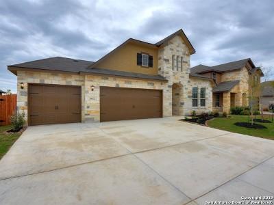 San Antonio Single Family Home New: 8022 Mahala Bluff