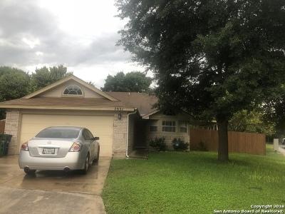 San Antonio Single Family Home Active Option: 7931 Quail Breeze