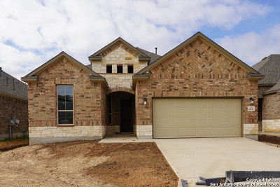 San Antonio Single Family Home Active RFR: 22611 Carriage Bluff