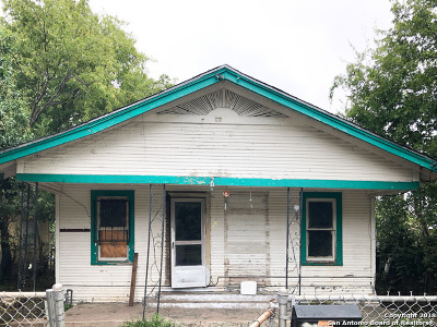 San Antonio Single Family Home New: 1527 Lamar