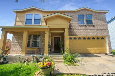 Bexar County Single Family Home Back on Market: 4919 Mesa Bonita