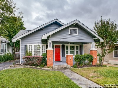 Alamo Heights Single Family Home For Sale: 122 Normandy Ave