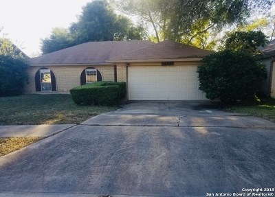 San Antonio Single Family Home New: 14403 Ridge Meadow Dr