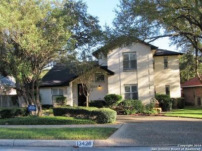 San Antonio Single Family Home New: 13426 Vista Del Prado