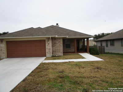 Converse Single Family Home New: 10323 Margarita Hill