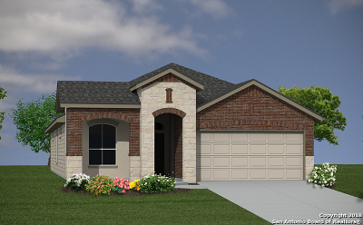 Converse Single Family Home New: 6107 Akin Elm