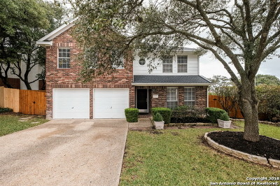 Stone Oak Single Family Home New: 603 Lightstone Dr