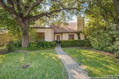 San Antonio Single Family Home New: 150 Lorenz Rd