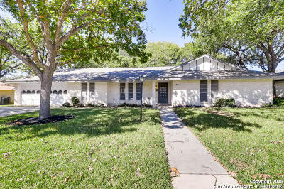 Windcrest Single Family Home New: 537 Balfour Dr