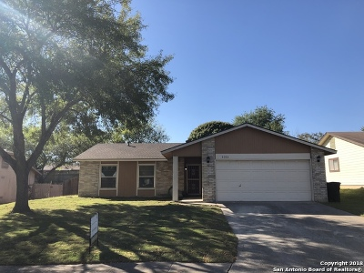 San Antonio Single Family Home New: 1011 Bridle Forest