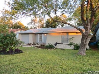 San Antonio Single Family Home New: 11410 Chapala Way
