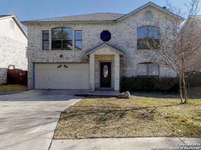 San Antonio Single Family Home New: 17521 Sapphire Rim Dr