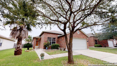 Cibolo Single Family Home Active Option: 124 Brahma Way