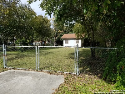 San Antonio Residential Lots & Land New: 1027 Chalmers Ave