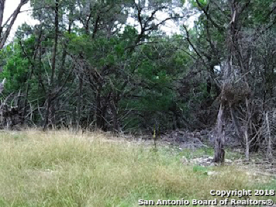 Boerne Residential Lots & Land New: 81 Cabin Springs