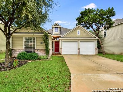 San Antonio Single Family Home New: 8730 Sarasota Woods