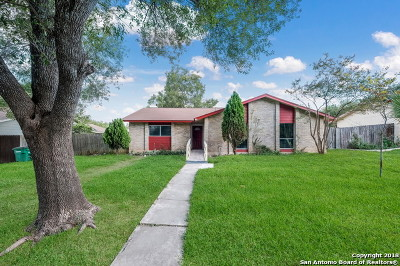 San Antonio Single Family Home New: 6607 Spring Garden St