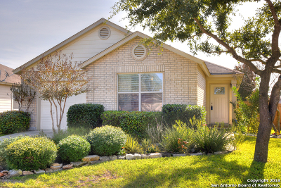 Cibolo Single Family Home Active Option: 121 Brahma Way