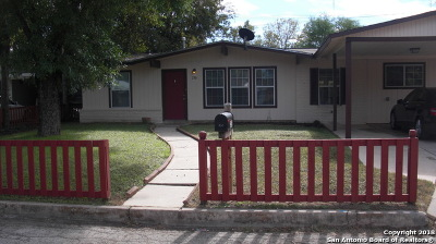 San Antonio Single Family Home New: 230 Cicero Dr