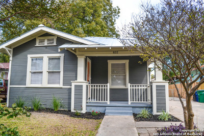 San Antonio Single Family Home New: 832 E Guenther St