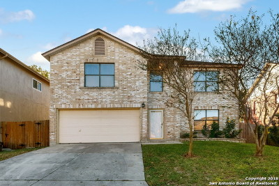 Converse Single Family Home New: 8107 Cantura Mills