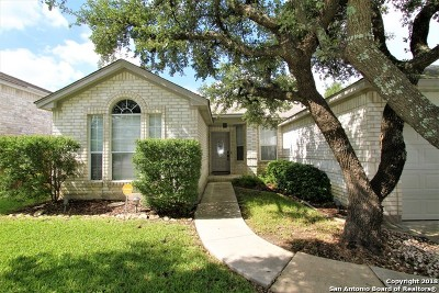 San Antonio Single Family Home New: 15707 Knollpine