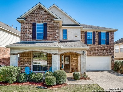 San Antonio Single Family Home New: 23506 Enchanted View