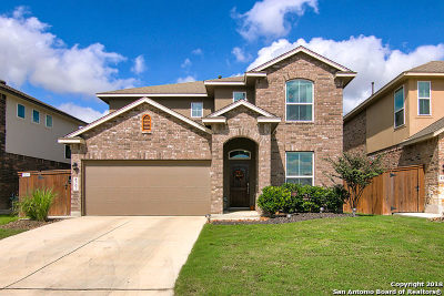 San Antonio Single Family Home New: 8307 Gentry Creek