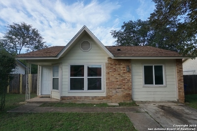 San Antonio Single Family Home New: 9763 Hidden Rock