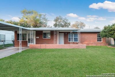 San Antonio TX Single Family Home New: $162,000
