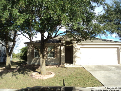 Cibolo Single Family Home Active Option: 3807 Pebble Beach