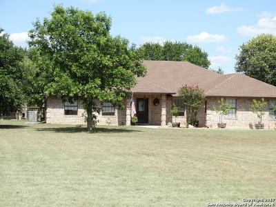 Seguin Single Family Home New: 102 Old Campbell Rd