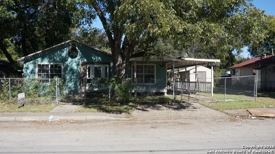 San Antonio Single Family Home New: 161 Carle Ave