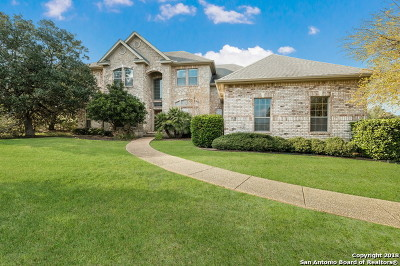 Boerne Single Family Home For Sale: 106 Pebble Creek