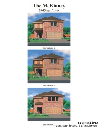Converse Single Family Home New: 7415 Snapdragon Court
